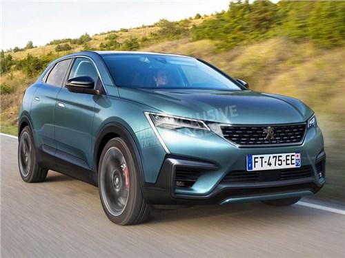 Peugeot через два года представит купеобразный кроссовер