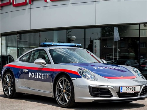 Полиция Австрии получила в свое распоряжение Porsche 911