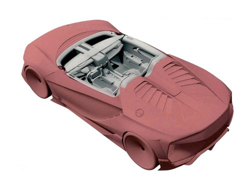 Рассекречен интерьер нового спорткара Honda