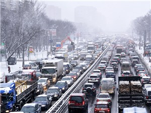 Власти отрицают, что 4 февраля пробки достигли 3,5 тыс. км