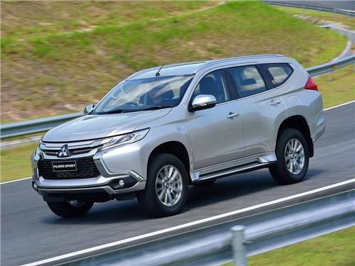 Новый Mitsubishi Pajero Sport выходит на российский рынок