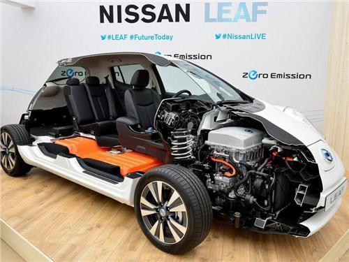 Новость про Nissan Leaf - Nissan, Mitsubishi и Renault вместе займутся созданием бюджетных электромобилей