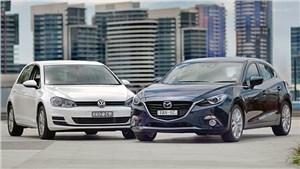 Audi A3, Mazda 3, KIA Cerato, Skoda Octavia, Volkswagen Golf