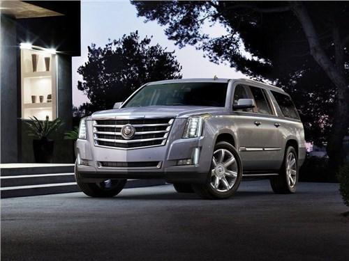 Новость про Cadillac - В октябре российские продажи Cadillac ушли в минус