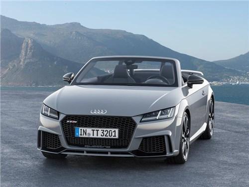 Осенью в России появится самая мощная версия Audi TT RS