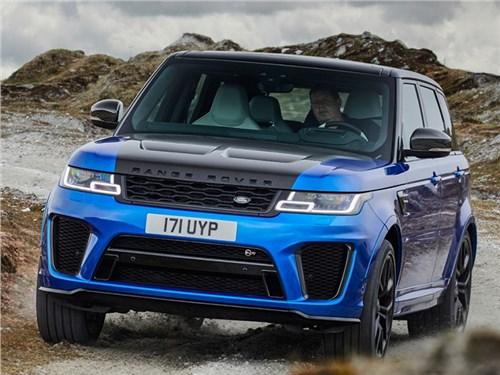 Новость про Land Rover Range Rover Sport - Range Rover Sport SVR
