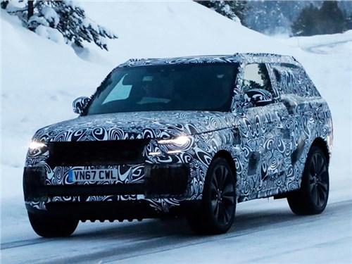 Range Rover готовит новое купе-кроссовер