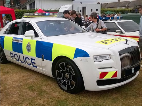 Полиция Великобритании получила Rolls-Royce Ghost
