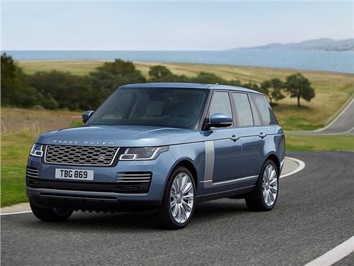 Представлен обновленный Range Rover