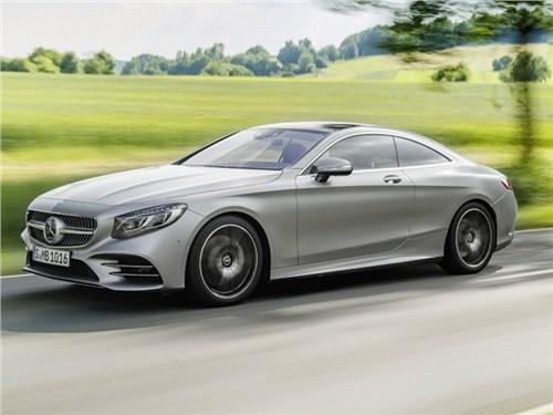 Новость про Mercedes-Benz - Mercedes-Benz S-класс купе