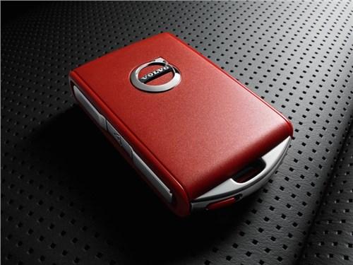 Новость про Volvo - Volvo представила новую систему под названием «Red Key»