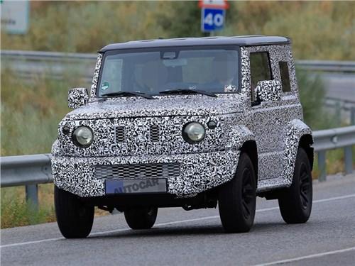 Новый Suzuki Jimny покажут в этом году