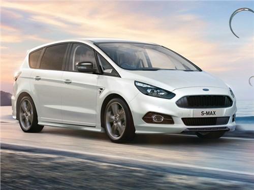 Новость про Ford S-Max - Ford S-Max ST-Line