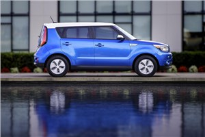 Kia представит на Московском автосалоне новый электроседан Soul EV