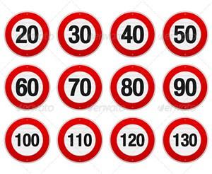 Лимит ненаказуемого превышения скорости может быть снижен до 10 км/ч