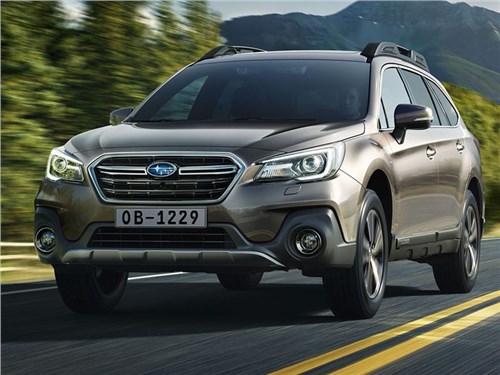 Subaru привезла в Россию обновленный Outback