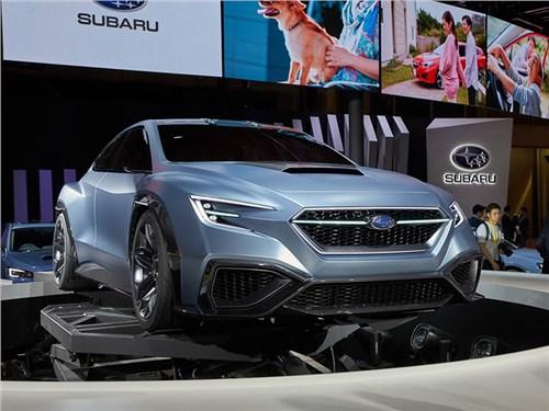Subaru Viziv Perfmonace: таким будет новый WRX?