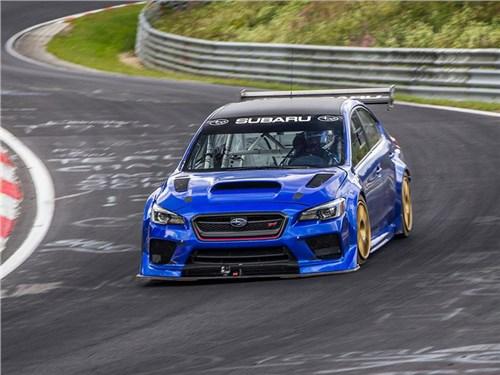 Новость про Subaru WRX STI - Subaru WRX STI Type RA NBR