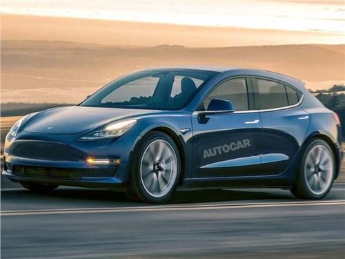 Tesla представит компактный хэтчбек в 2022 году