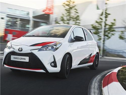 Toyota Yaris получила очень «горячую» версию