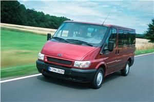 Предпросмотр ford transit 2000 микроавтобус короткая база низкая крыша