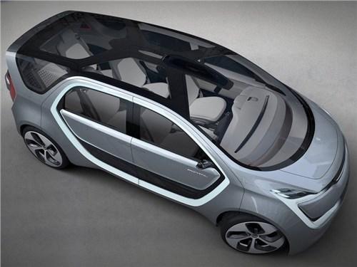 Новость про Chrysler - Chrysler привез в Детройт электрический концепт Portal