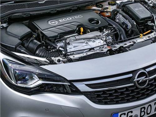 Новость про Opel Astra - Хэтчбек Opel Astra получит новый 1,6-литровый двигатель