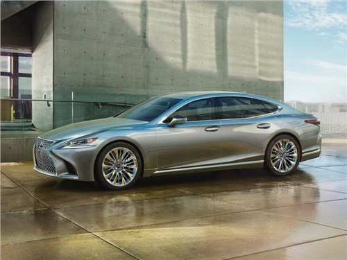 Lexus показал новое поколение своего флагманского седана