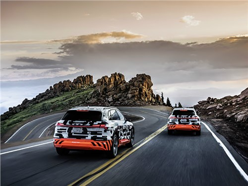 Новость про Audi - Audi e-tron