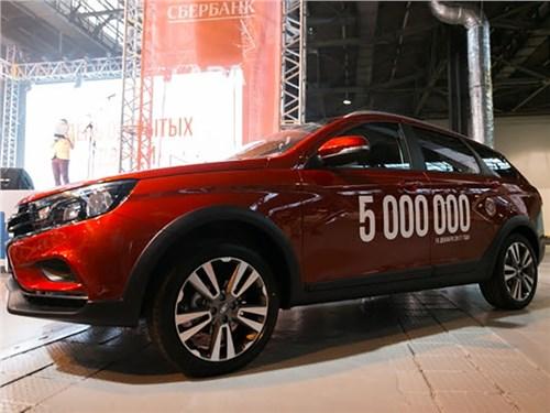 В Ижевске выпустили 5-милионный автомобиль