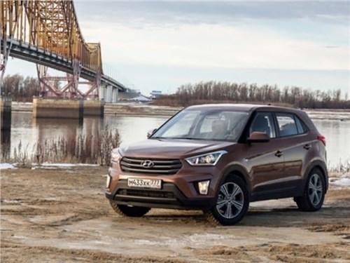 Продажи Hyundai Creta достигли 80 тысяч
