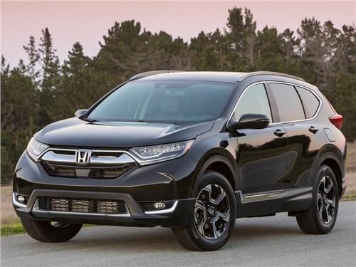 Новая Honda CR-V поступила в продажу в США