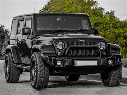 В России нашли дефектные Jeep Wrangler