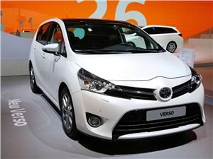 Toyota Verso будет стоить 820 тысяч рублей