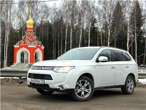 Mitsubishi Outlander - исток р. москва
