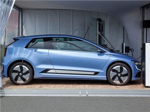 Volkswagen показал электромобиль будущего