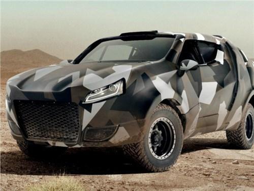 Новость про Volkswagen Amarok - Volkswagen создал концептуальный пикап Komara