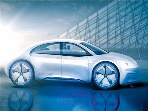 Новость про Volkswagen Beetle - Volkswagen превратит Beetle в электромобиль
