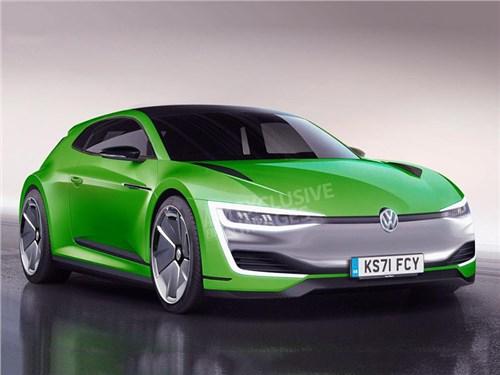 Volkswagen Scirocco переродится в электромобиль