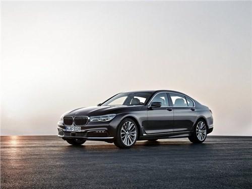 BMW назвал российские цены новых версий седана 7-Series