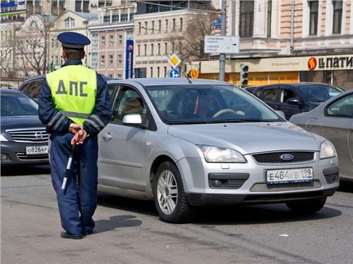 Москвичу выписали штраф за остановку, совершенную по требованию инспектора ГИБДД