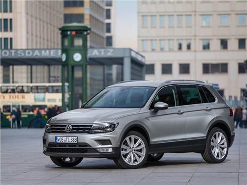Volkswagen назвал сроки появления нового Tiguan на российском рынке