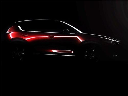 Mazda опубликовала первый тизер нового CX-5
