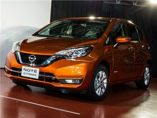 Nissan представил гибридную версию компакт-кара Note