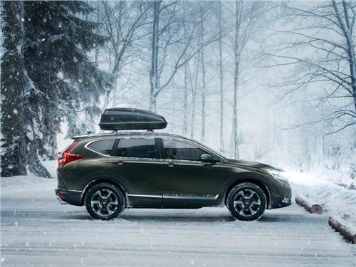 Новость про Honda CR-V - Honda будет поставлять в Россию новый CR-V