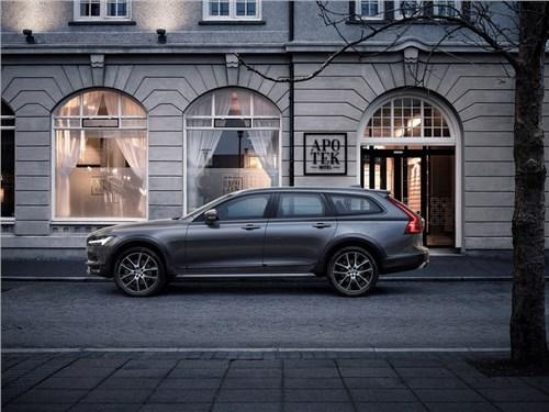 Новость про Volvo V90 Cross Country - Volvo представил в Лос-Анджелесе вседорожный универсал V90 Cross Country