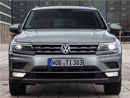 Volkswagen сделал удлиненную модификацию нового Tiguan