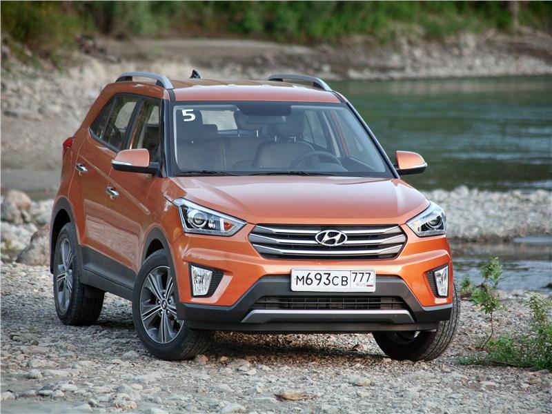 Hyundai Creta 2016 Первая тысяча за рулем Hyundai Creta