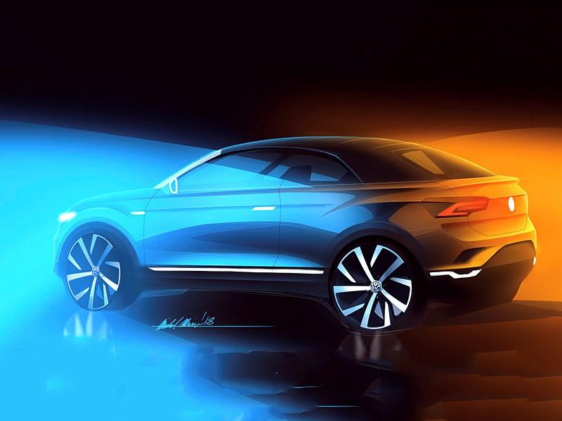 Volkswagen сделает кабриолет на базе T-Roc