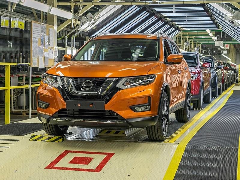 Nissan готовится к производству обновленного X Trail в России Фото Авто Коломна